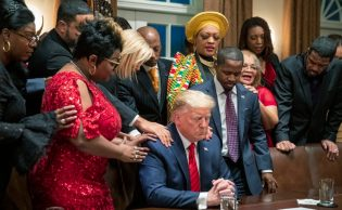 White House Hosts Black History Month Event in True Trump Fashion ...