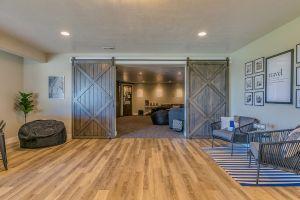 basement refinishing homey retreat guests