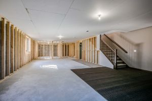 basement remodel new home unfinished