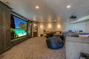 finish basement remodel movie room