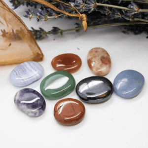 Full Chakra Set of Crystals