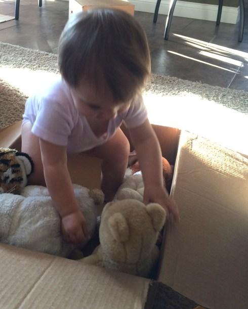 Boxes for toys