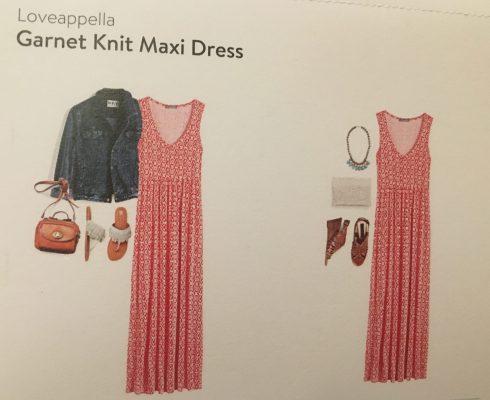 Loveappella Garnet Knit Maxi Dress Suggestions