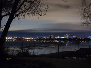 Anchorage sky line as seen from Earthquake Park