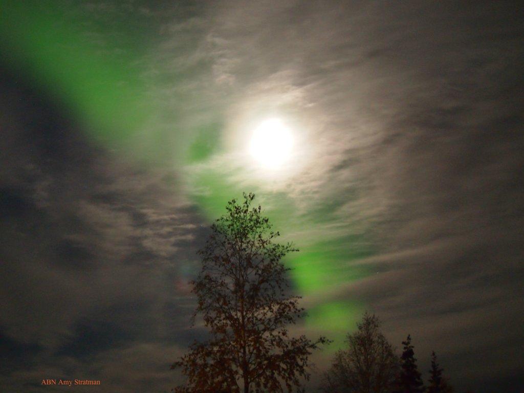 aurora chena lakes moon