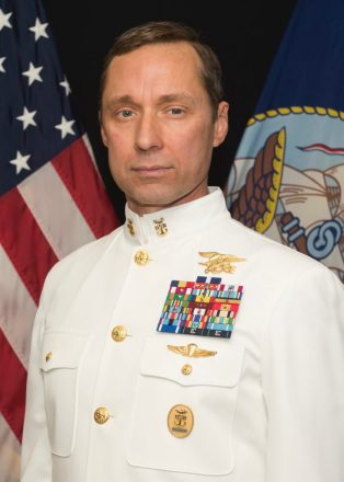Master Chief Petty Officer (SEAL), Retired, Britt Slabinski