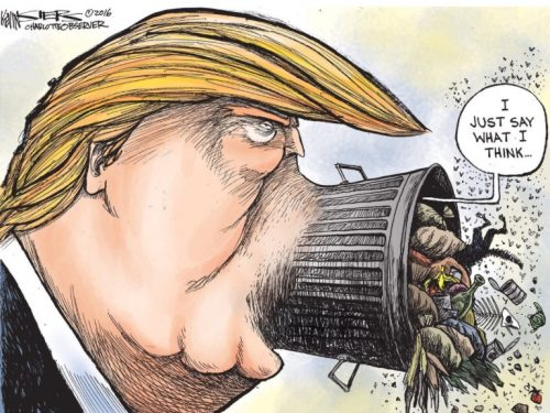 La minaccia di guerra di Trump all'Iran generata da menzogne
