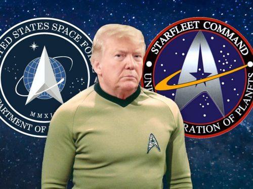 L'US Space Force: la peggiore pornografia politica
