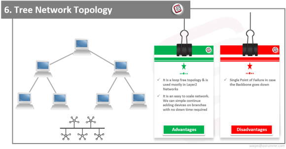 Tree Network Topology