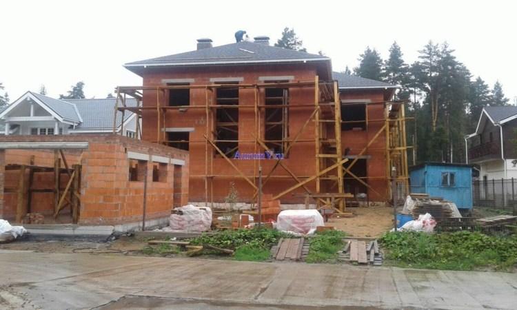 Срок строительства коттеджа Москва