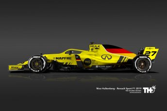 Renault F1 2019 - NH27 - Tim Holmes concept