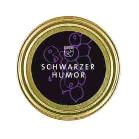 """Johannisbeermarmelade """"Schwarzer Humor"""" von Essendorfer"""