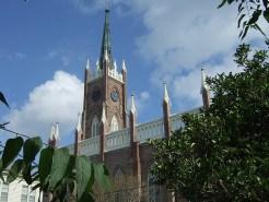 Kirche in Natchez, im Bundesstaat Mississippi