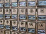 Postfächer in der Post von Natchez
