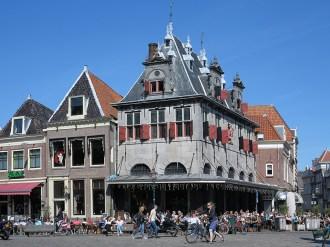 Das Cafè am Roode Steen in Hoorn