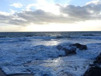 Am Strand, nördlich von Carteret