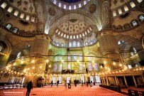 The Sultan Ahmed Mosque or Sultan Ahmet Mosque