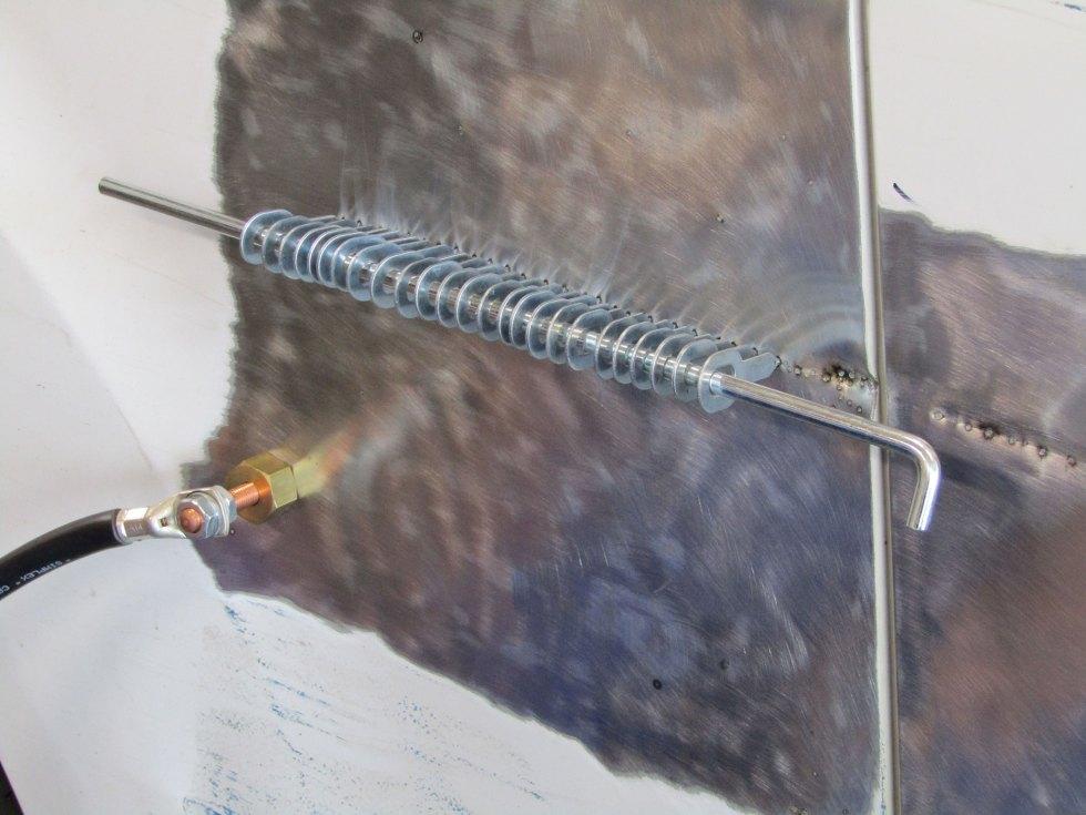 zugstange ausbeulen kfz 41cm
