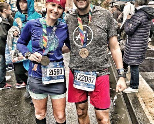 New York City Marathon, Medaillen