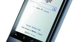 Huawei IDEOS side profile