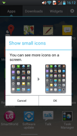 Small Icons in App Drawer