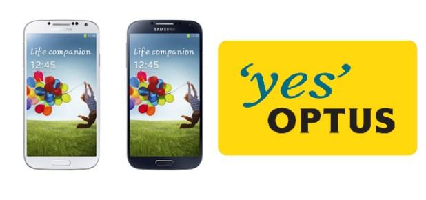Optus Galaxy S 4