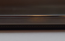 The volume rocker on the left-side of the phone