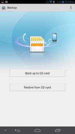 Backup / Restore App