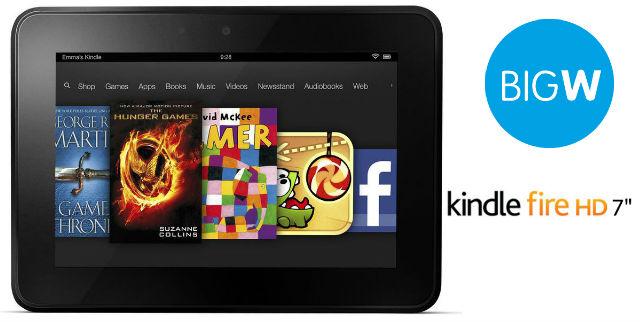 Big W Kindle Fire HD