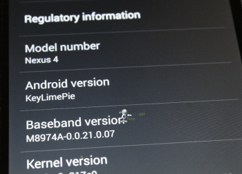 EXCLUSIVE  Android 4.4 hands on with pictures 1