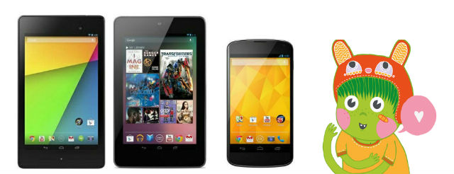 N7 2012 - 2013 and N4 Paranoid Android