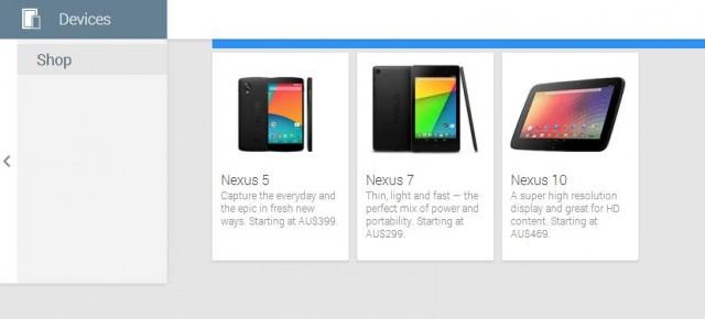 Nexus 4 removed