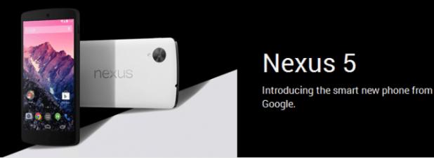 Nexus 5 Header