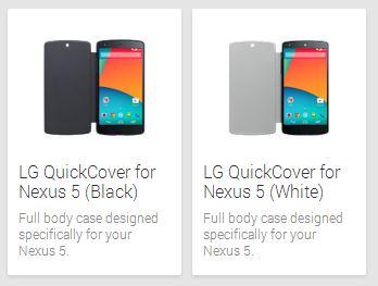 Nexus 5 Quick Cover