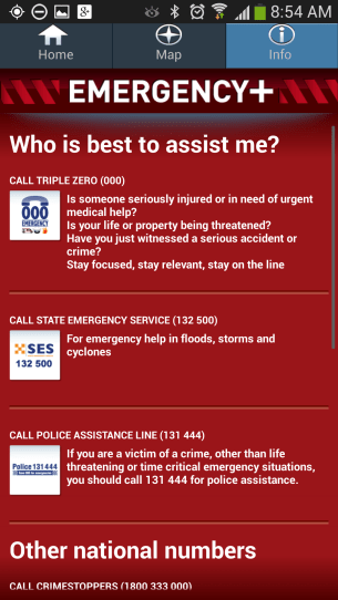 Which service to call?