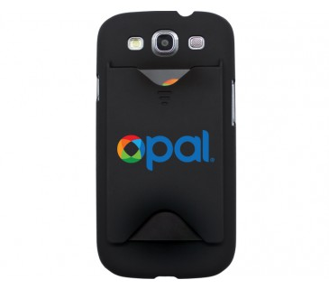 Black Galaxy S3 Opal Cover