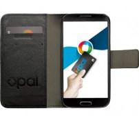Black Galaxy S4 Flip Cover