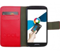 Red Galaxy S4 Flip Cover