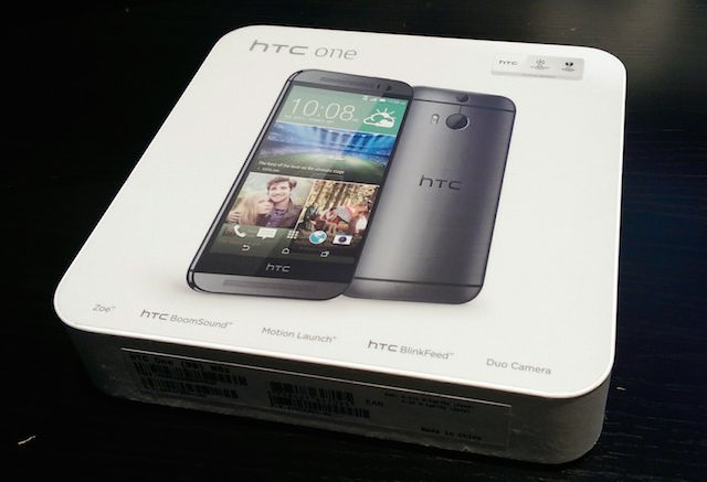HTC One (M8) Box