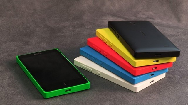 Nokia X Stacked