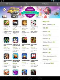 W Games Screenshot