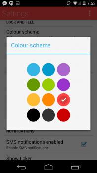 QKSMS Color Options