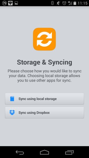 Storage selection