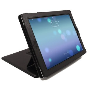 SD Pro Tablet Leather Case Smart Folio Flip Cover for iPad 4