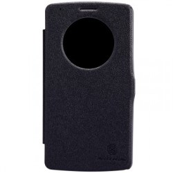 Nillkin Fresh Series Leather Quick Circle Case for LG G3 – Black