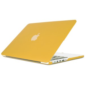 15″ Hard Shell Case for MacBook Pro with Retina Display – Yellow