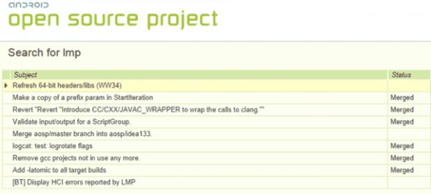 AOSP - LMP Search