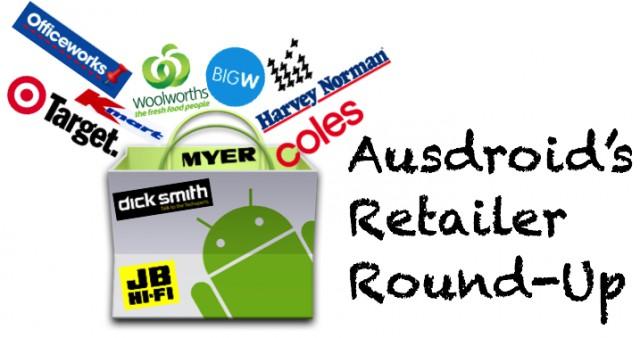 Audroid's Retailer Round=up Banner Logo