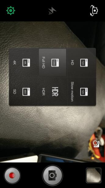 Oppo Find 7 Camera UI 2