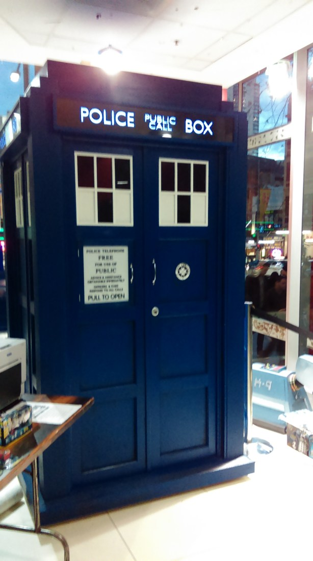 Oh look, its the TARDIS